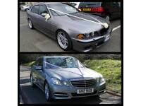 Wedding Car for Hire Bride, Groom, Bridesmaids Chauffeur Limo - Lothians , Fife, Borders