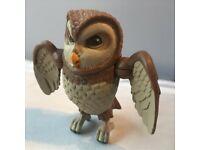 PETER RABBIT OLD BROWN OWL FIGURE - RARE ORIGINAL POSABLE WINGS
