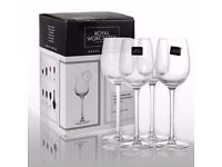NEW 2 SETS OF 4 ROYAL WORCESTER GRAND CHATEAU RED WINE GLASSES 8 Glasses In Total