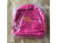 Backpack for amazon fire tablet pink