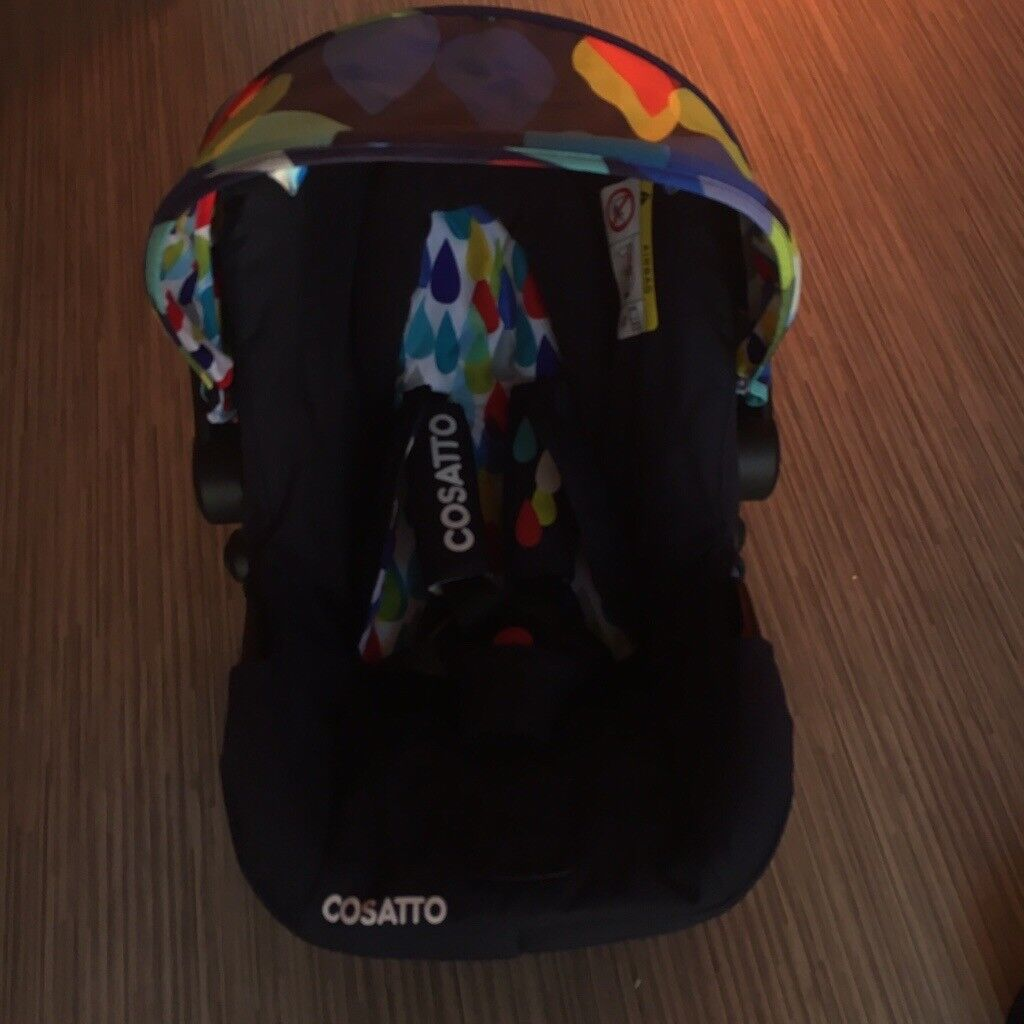 Reduced to £60 ONO: Cosatto hold car seat