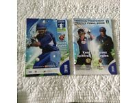 2 - Cricket Programmes Essex Semi Final and Final of the Friends Provident Trophy in 2008