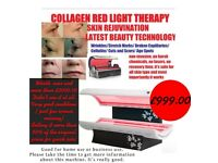 rejuvation collagen red light therapy bed