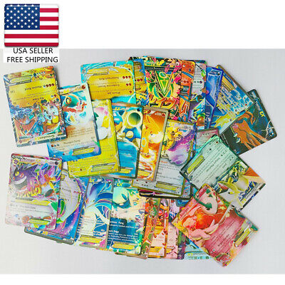 60 pcs Pokemon Card Lot  OFFICIAL TCG Cards Ultra Rare