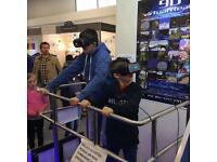 VR virtual reality gaming machine for hire 1 day £500 marriage corporate birthday event