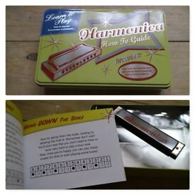 Harmonica for beginners or kids
