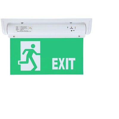 Emergency Light Led Exit Sign - Green With