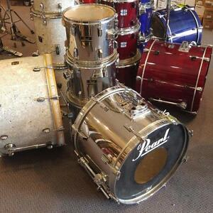 Pearl Export fini Chrome finish Shellkit 12-13-16-22 - usagé/used