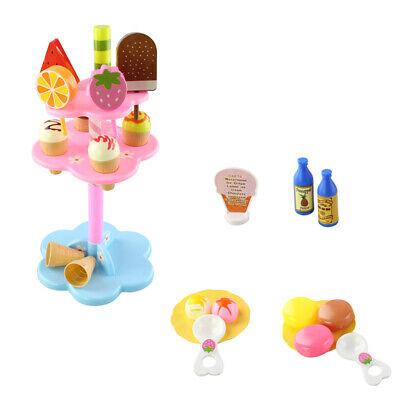 22 stücke Eis & Desserts Stand Set Kinder Kinder Rolle Spielen Shop (Eis-desserts)