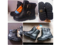 Brand New Size 9 child boots with tag