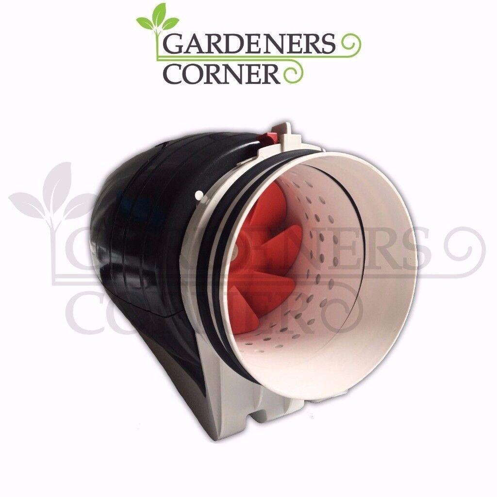 Hydroponics Fan 6  Indoor Growing Grow Silent Acoustic Tent Extractor  sc 1 st  Gumtree & Hydroponics Fan 6