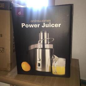 BNIB Andrew James Power Juicer