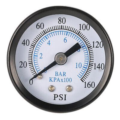 Pressure Gauge Pressure Manometer Air Compressor Pressure 0-10 Bar 18 Npt