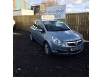 2006 56 VAUXHALL CORSA CLUB 1.2 FULL MOT 6 MONTHS WARRANTY GREAT EXAMPLE £1295