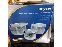 Sunngas Billy Set & kettle