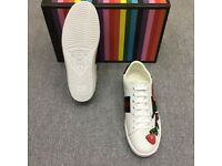 Gucci Sneakers (Red Rose)