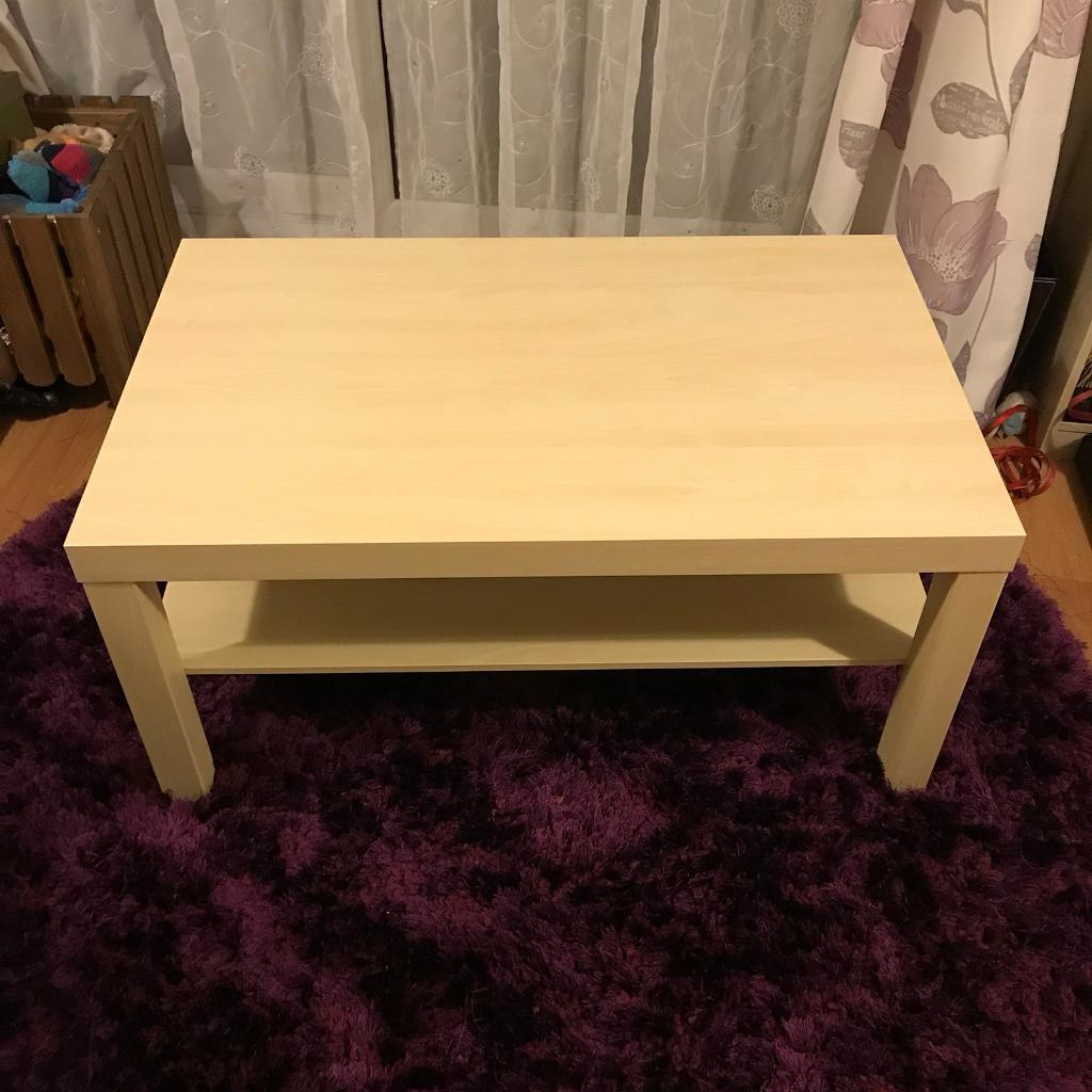 Ikea LACK coffee table (with shelf attached)