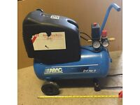 air compressor ABAC 24L 2HP (NEVER used) With tubes and Mask.
