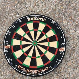 Dartboard with optional surround