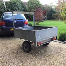 We are selling a Small trailer in need of repair, it needs a new base