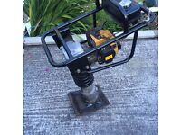 Ammann petrol trench rammer wacker easy to start well looked after