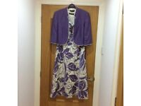 Jacques Vert Dress and Bolero Wedding Guest, Races, Occasion, Formal Outfit in excellent condition.