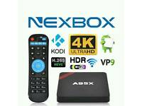 ANDROID TV BOX. HD 4K