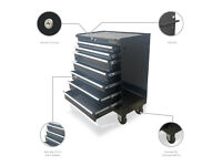 TOOL BOX CHEST ROLLER CABINET 7 BALL BEARING SLIDE DRAWERS MECHANIC - US PRO TOOLS