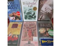 VHS videos: wide selection of music, films and childrens