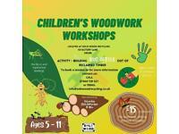 Children's woodwork class this Saturday!