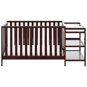 Storkcraft 04585-109 Pacific 4-in-1 Convertible Crib with Changing Table-Espresso (Assembled)
