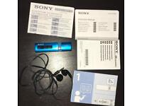 Sony Walkman - 4GB - BLUE