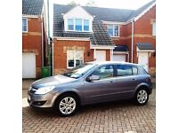 VAUXHALL ASTRA 1.6 DESIGN, MILEAGE 42000, LEATHER INTERIOR, MOT APRIL 2017