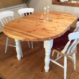 Stunning shabby chic farmhouse kitchen diner for sale