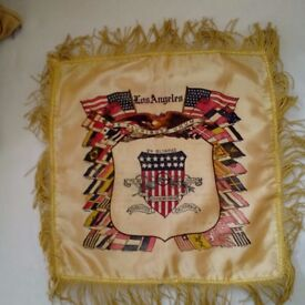 Los Angeles 1932 Olympic Games commemorative cushion cover