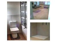 Professional team- Tiler/Painter, bathrooms & kitchens, mosaics,natural stone, porcelain, wet rooms
