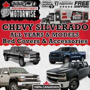 Chevy Silverado Bed Covers - Accessories - Performance Parts | FINANCING Available | Shop & Order at Motorwise.ca