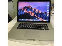 Macbook Pro (Retina Mid 2015) Core i7 2.2 GHz, Memory 16GB