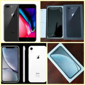 iPhone 8 and iPhone 8 Plus 64GB ($600/$750), Like New in Box, Apple Warranty! Factory Unlocked!*** (Rogers/Telus/Bell/Fr