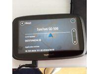 TomTom Go 500 GPS SatNav for car