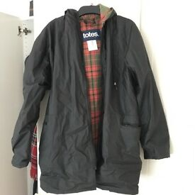 Mens Wax Type Jacket in Small