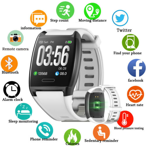 Waterproof Smart Watch Fitness Tracker Wristband for iPhone 6S 7 8 Plus X 11 XR Cell Phones & Accessories