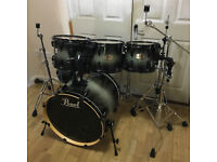 Fully Refurbished 6 Piece Pearl ELX Drum Kit ~ Free Local Delivery