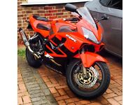 CBR 600 red beast ready to hit the road loads of upgrades fully loaded mot n tax Hpi clear