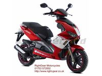 *Brand New* 66 Plate Lexmoto Diablo 125 Scooter.Warranty. Free Delivery. Main Dealer.