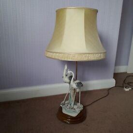 Large table lamp. Guiseppe Armani