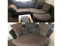 DFS Corner Sofa and 2 Seater sofa