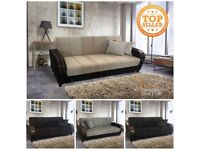 DISCOUNTED DEAL = BRAND NEW ** TURKISH SOFA BED ** LARGE __ SOFA BED - CONVERT INTO BED WITH STORAGE