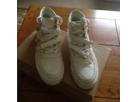 Men's white boots size 8 from ASOS