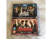 Disney Marvel Avengers Assemble / Age of Ultron Blu Ray Pack